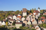 Altensteig, Black Forest, Baden Wurttemberg, Germany, Europe Photographic Print by Markus Lange