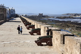 Portuguese Cannons Along the Ramparts, Essaouira, Atlantic Coast, Morocco, North Africa, Africa Photographic Print by Stuart Black