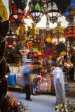 Stalls in the Fes El Bali Medina, Fez, Morocco, North Africa, Africa Reproduction photographique par Doug Pearson