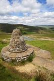 Muker Parish 2000 Stone Seat Above Thwaite in Swaledale Yorkshire Dales Photographic Print by Mark Sunderland