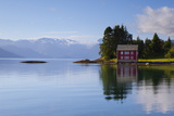 An Idyllic Rural Island in the Hardanger Fjord, Hordaland, Norway, Scandinavia, Europe Photographic Print by Doug Pearson