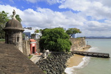 City Walls in Old San Juan, Puerto Rico, West Indies, Caribbean, Central America Photographic Print by Richard Cummins