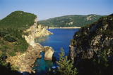 Paleokastritsa, Corfu, Greece Photographic Print by Hans-Peter Merten