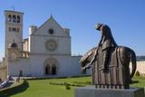 Basilica Di San Francesco, Assisi, UNESCO World Heritage Site, Umbria, Italy, Europe Photographic Print by Charles Bowman