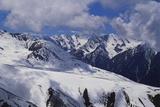 Cis Tien Shan Range Near Lake Issykkul, Kyrgyzstan Photographic Print by Gavin Hellier