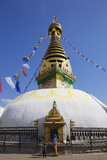 Swayambhunath Stupa, UNESCO World Heritage Site, Kathmandu, Nepal, Asia Photographic Print by Ian Trower