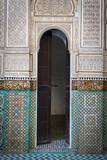 Bou Inania Medersa, Medina, UNESCO World Heritage Site Fotografisk tryk af Doug Pearson
