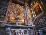 Paintings of the Virgin Mary, La Martorana, Palermo, Sicily Photographic Print by Ken Gillham