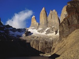 Rock Formation at Tierra Del Fuego Natioanl Park, Chile, Latin America Photographic Print by Nick Wood