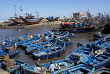 Fishing Port with Traditional Boats in Front of the Old Fort Photographic Print by Stuart Black