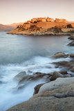 Citadel at Sunset, Calvi, Balagne, Corsica, France, Mediterranean, Europe Photographic Print by Markus Lange