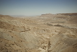 Landscape of the Zin Valley, Negev Region, Israel, Middle East Photographic Print by Yadid Levy