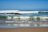 Waves Crashing Ashore from Indian Ocean Fotografisk tryk af Walker, Kim