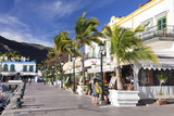 Promenade with Restaurants and Cafes, Puerto De Mogan, Gran Canaria, Canary Islands, Spain, Europe Photographic Print by Markus Lange