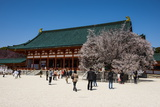 Park in the Heian Jingu Shrine, Kyoto, Japan, Asia Photographic Print by Michael Runkel