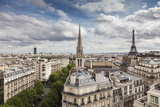 American Cathedral and the Eiffel Tower, Paris, France, Europe Photographic Print by Giles Bracher