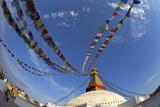 Boudhanath Stupa, UNESCO World Heritage Site, Kathmandu, Nepal, Asia Photographic Print by Peter Barritt