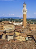 Torre Del Mangia, Siena, Italy Photographic Print by John Miller