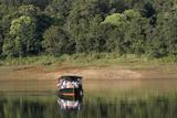 Boating, Periyar Tiger Reserve, Thekkady, Kerala, India, Asia Photographic Print by Balan Madhavan