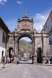 Santa Clara Arch, Cuzco. Peru, South America Photographic Print by Peter Groenendijk