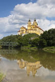 Melk Abbey Reflected in the Danube, Wachau, Lower Austria, Austria Photographic Print by Doug Pearson