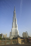 Burj Khalifa, Dubai, United Arab Emirates, Middle East Photographic Print by Amanda Hall