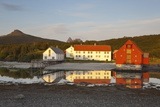 The Old Trading Centre of Kjerringoy, Nordland, Norway, Scandinavia, Europe Photographic Print by Doug Pearson