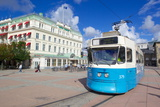 City Tram, Drottningtorget, Gothenburg, Sweden, Scandinavia, Europe Photographic Print by Frank Fell