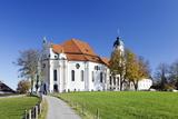 Wieskirche Near Steingaden, Allgau, Bavaria, Germany, Europe Photographic Print by Markus Lange