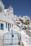 Oia, Santorini (Thira), Cyclades, Greek Islands, Greece, Europe Photographic Print by Angelo Cavalli