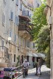 Old Stone Houses in Backstreet, Bol, Brac Island, Dalmatian Coast, Croatia, Europe Photographic Print by John Miller