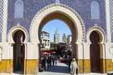 Bab Boujeloud Gate (The Blue Gate) Photographic Print by Doug Pearson