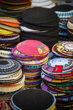 Colourful Kipas, Jerusalem, Israel, Middle East Photographic Print by Yadid Levy