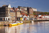 The Seaside Town of Whitby in the North York Moors National Park Photographic Print by Julian Elliott