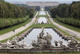 Royal Palace, Caserta, Campania, Italy, Europe Fotografisk tryk af Oliviero Olivieri