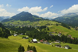 Aerial View of the Kleines Walsertal, Austria, Europe Photographic Print by Jochen Schlenker