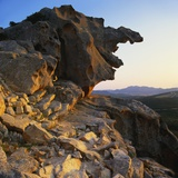 Sculpted Rock Formation, Sardinia Photographic Print by John Miller