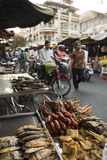 Seafood at Food Market, Phnom Penh, Cambodia, Indochina, Southeast Asia, Asia Photographic Print by Ben Pipe