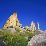 Temple of Zeus, Jerash, Jordan, Middle East Photographic Print by Christopher Rennie