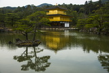Kinkaku-Ji (Golden Pavilion) Buddhist Temple, UNESCO World Heritage Site, Kyoto, Japan, Asia Photographic Print by Michael Runkel