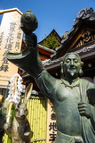 Statue in the Kiyomizu-Dera Buddhist Temple, UNESCO World Heritage Site, Kyoto, Japan, Asia Photographic Print by Michael Runkel
