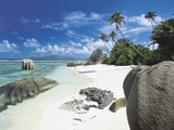 Anse Source D'Argent, La Digue, Seychelles Photographic Print by Lee Frost