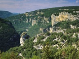 Ardeche Gorges, Roussillon, France Photographic Print by John Miller