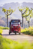 Tuktuk in the Sri Lanka Hill Country, Haputale, Nuwara Eliya District, Sri Lanka, Asia Photographic Print by Matthew Williams-Ellis