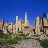 Temple of Artemis, Jerash, Jordan, Middle East Photographic Print by Christopher Rennie