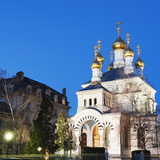 Russian Orthodox Church, Geneva, Switzerland, Europe Photographic Print by Christian Kober