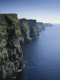 Ireland, County Clare, Cliffs of Moher Fotografisk tryk af Roy Rainford