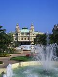 Grand Casino De Monte Carlo, Monte Carlo, Monaco Fotografisk tryk af Roy Rainford