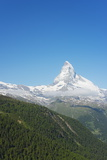 The Matterhorn, 4478M, Zermatt, Valais, Swiss Alps, Switzerland, Europe Photographic Print by Christian Kober