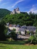 Vianden Castle, Vianden Town, Luxembourg Photographic Print by Gavin Hellier